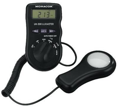 MONACOR LM-200 Digital luxmeter