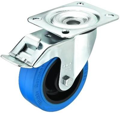 BLICKLE GCBB-100B Hjul m/bremse blå