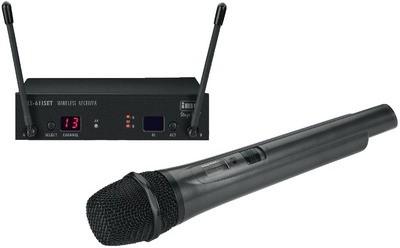 IMG STAGELINE TXS-611SET Trådløs mikrofonsæt