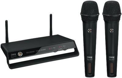 IMG STAGELINE TXS-2402SET Trådløst mikrofonsæt 2.4GHz