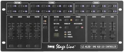 IMG STAGELINE LC-4LED Styring t/LED PAR-lamper