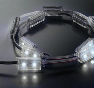 MONACOR LEDM-2/WS Lysslange hvid