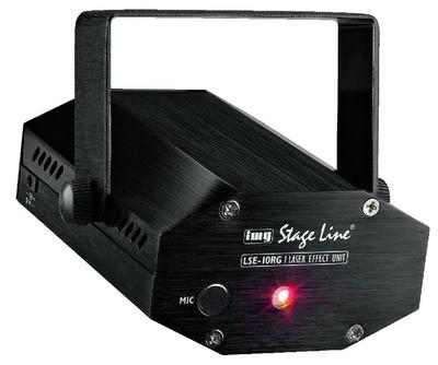 IMG STAGELINE LSE-10RG Laser effekt