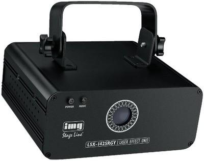 IMG STAGELINE LSX-142SRGY Laser effekt