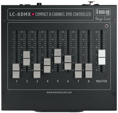 IMG STAGELINE LC-8DMX DMX controller