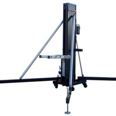 FANTEK FT-6520 stativ, sort, 650cm, 200/360kg