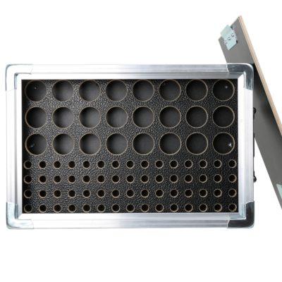 GlobalTruss kasse til truss tilbehør - 24 egg, 60 pins