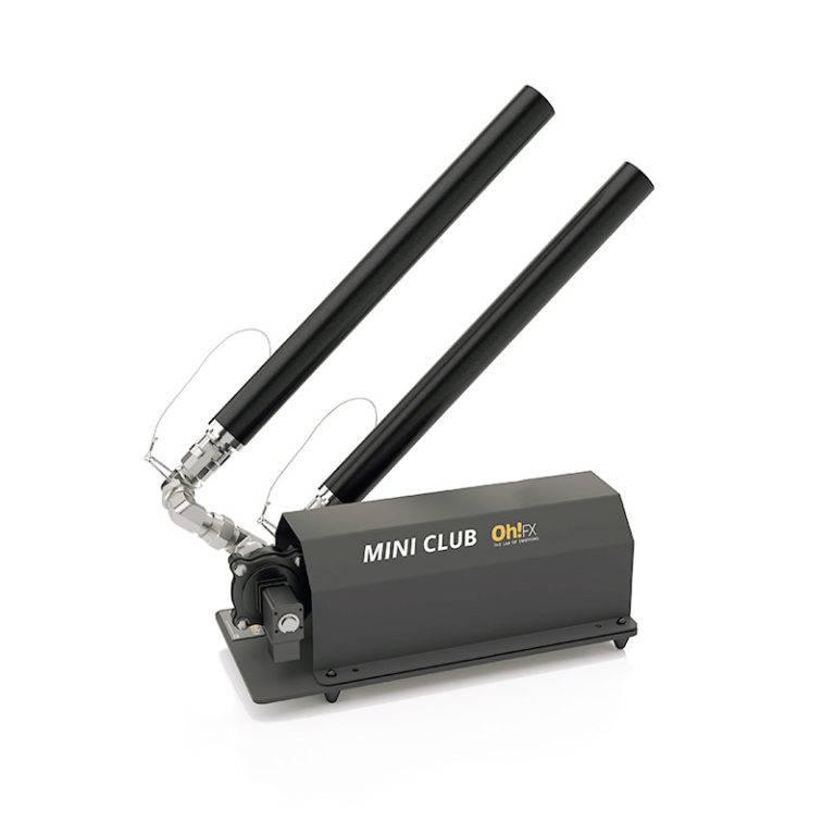 Oh!FX Mini Club kit, 1 ekstra rør og fittings, for 2 rør total