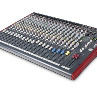 Allen & Heath ZED-22FX mixer, 16 mono, 3 stereo, USB og DSP