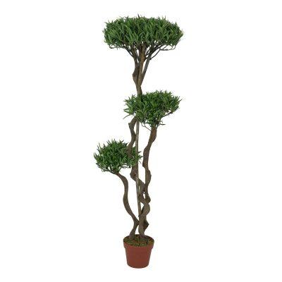 EUROPALMS Bonsai tree, multi trunk, artificial plant, 130cm