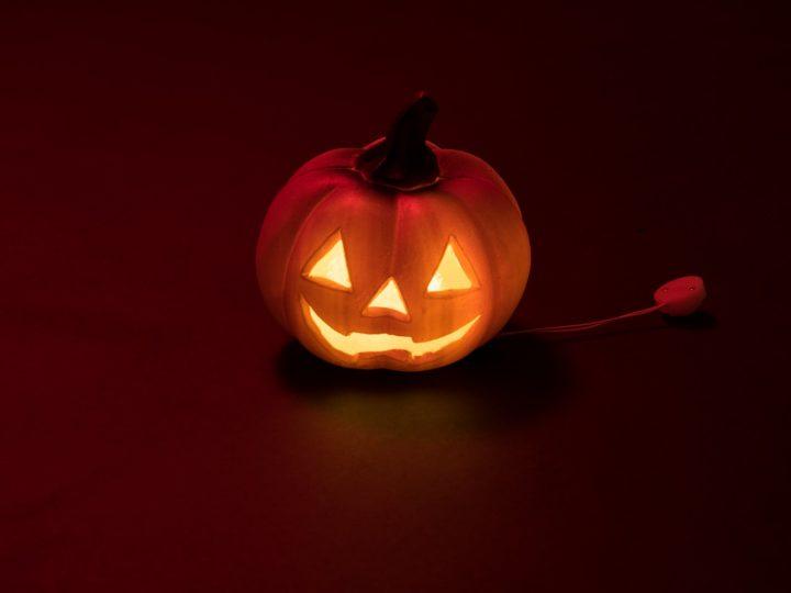 EUROPALMS Halloween Pumpkin illuminated, 12cm
