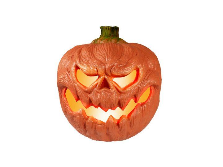 EUROPALMS Halloween Pumpkin illuminated, 18cm