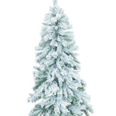 EUROPALMS Fir tree, flocked, 180cm