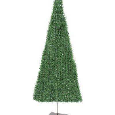 EUROPALMS Fir tree, flat, light green, 150cm
