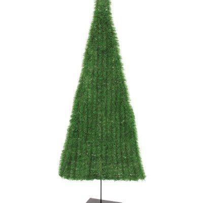 EUROPALMS Fir tree, flat, green, 150cm