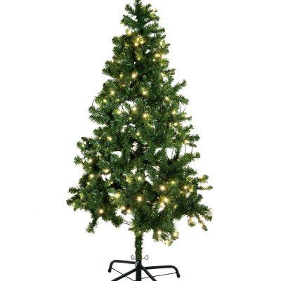 EUROPALMS Christmas tree, illuminated, 210cm