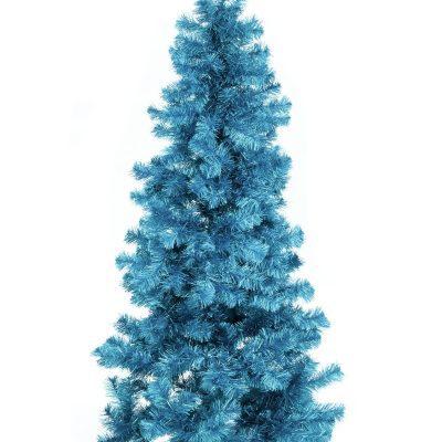 EUROPALMS Fir tree FUTURA, turquoise metallic,210cm