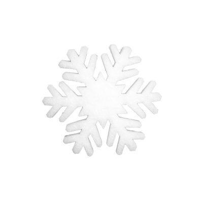 EUROPALMS Snowflake made of snow matting, 29cm, flame retardant B1