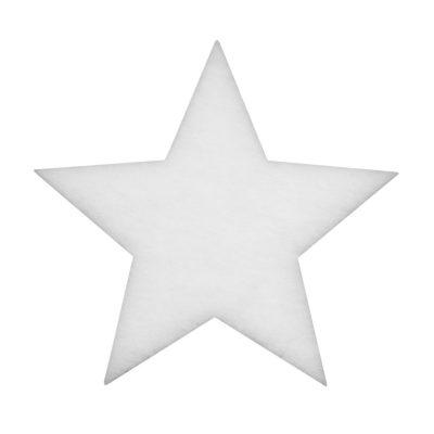EUROPALMS Star made of snow matting, 41cm, flame retardant B1