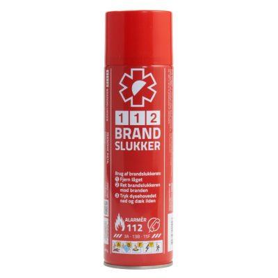 112 BRANDSLUKKER - Lille, billig og effektiv brandslukker