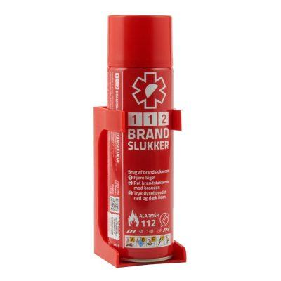Håndholdt brandslukker med holder - Lille, billig og effektiv