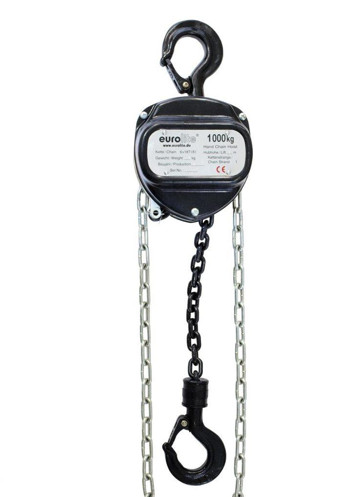 EUROLITE Chain Hoist 6M/1.0T black