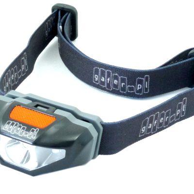 GAFER.PL LED pandelampe 1xAA, rødt og hvidt lys, vandresistent, 5-8 timers batteri, 20-70 lumens