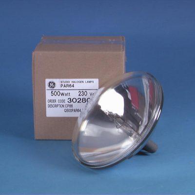 GE PAR 64 CP86 230V/500W VNSP 300h