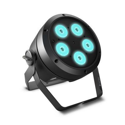Cameo ROOT PAR BATTERY 5 × 4 W battery powered RGBW LED PAR Spotlight
