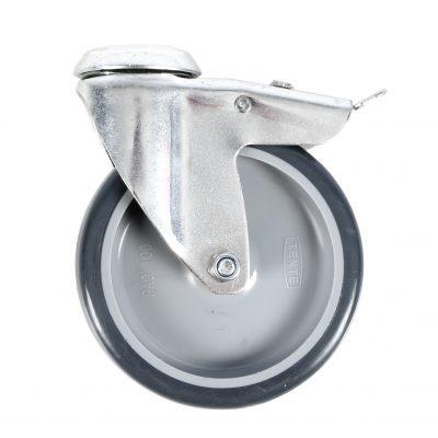 Global Truss hjul til base plates 60x60cm eller 80x80cm, med bremse