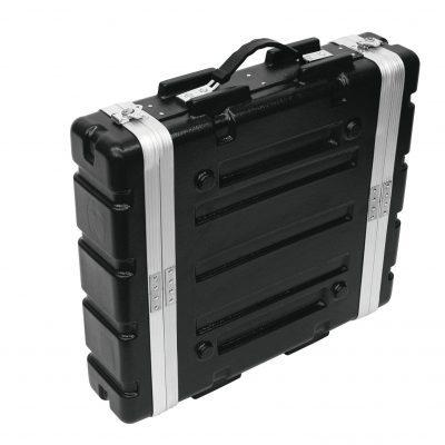 ROADINGER Plastic Rack KR-19, 2U, DD, black