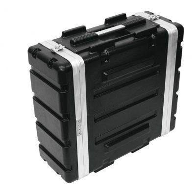 ROADINGER Plastic-Rack KR-19, 4U, DD, black