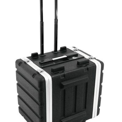 ROADINGER Plastic-Rack 19, 7U, DD/trolley, black